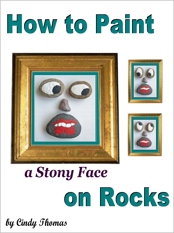 How to Paint a Stony Face on Rocks